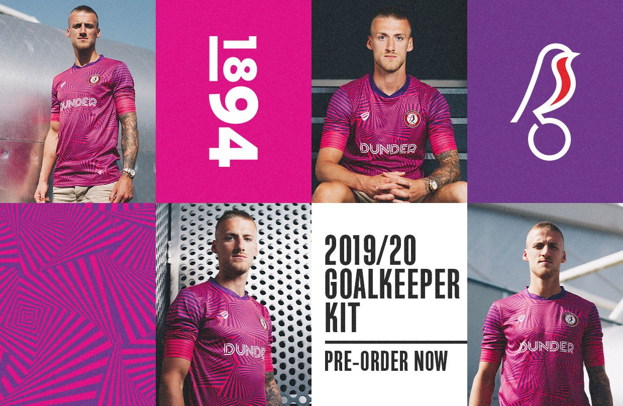 purchase cheap 06b71 83a6d Pre-order your 2019/20 goalkeeper strips | Bristol City